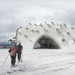 Tensile Morphologies: Mont-Tremblant Cable Car Station