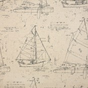 Point of Sail Linen 145736-0001 Coordinate
