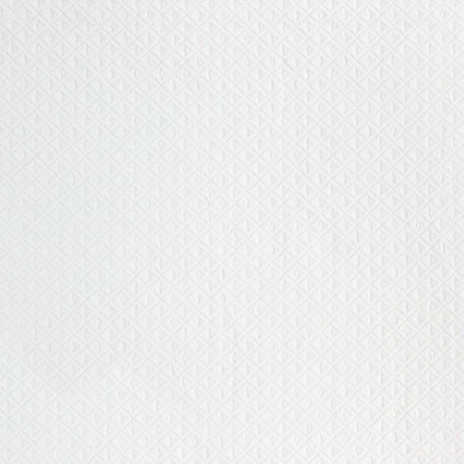 Del Mar Matelasse - White W80025 Larger View