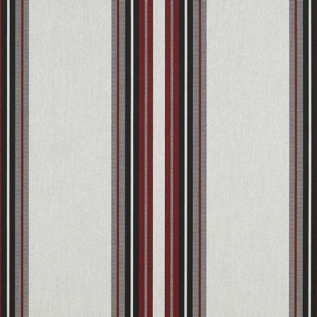 Burgundy Black White 4798 0000 Sunbrella Fabric