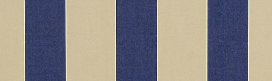 Mediterranean/Canvas Block Stripe 4921-0000 Detailed View