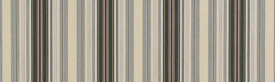 Alpine/Burgundy Pencil Stripe (Zoomed)