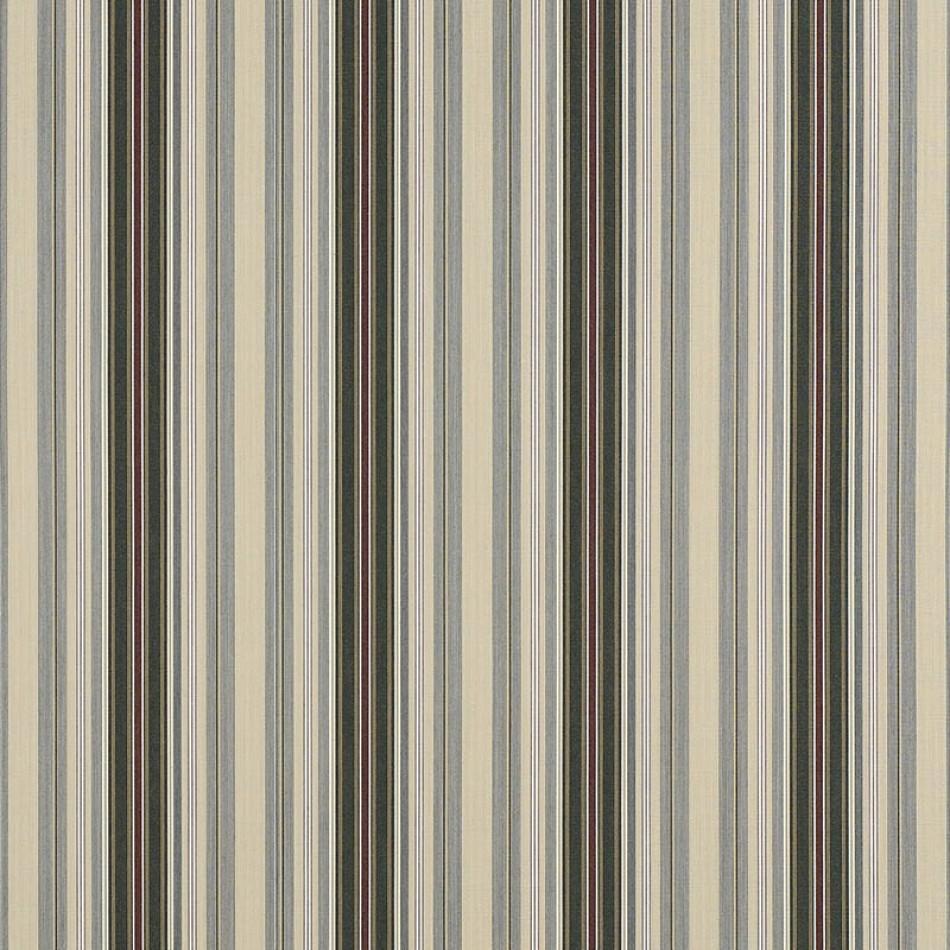 Alpine/Burgundy Pencil Stripe 4922-0000 Larger View