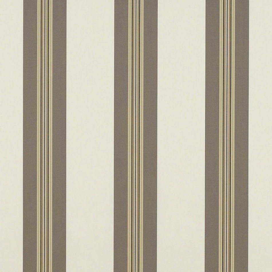 Taupe Tailored Bar Stripe 4945-0000 Larger View