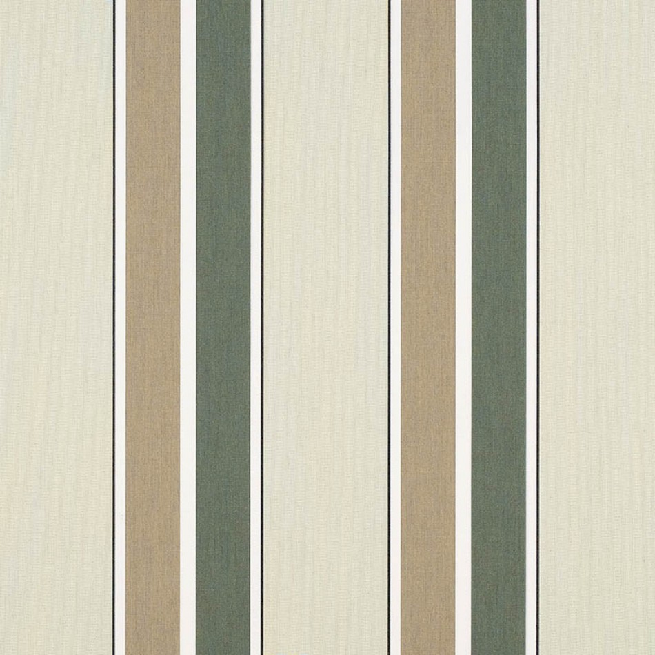 Fern/Heather Beige Block Stripe 4959-0000 عرض أكبر