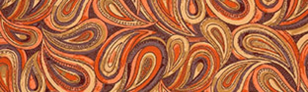 Boteh Orange Blaze 414-009 Приблизить изображение
