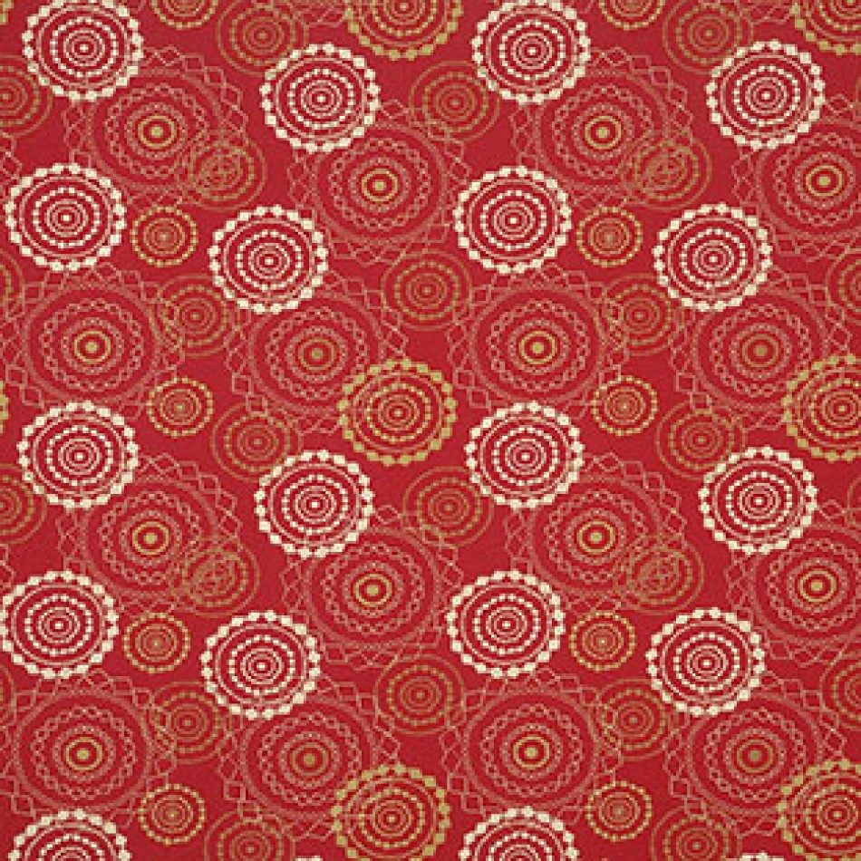 Mandala Crimson 418-001 Larger View