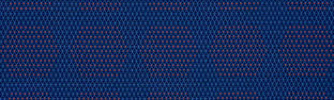 Dot Structure Blue & Orange 931-55 Sunbrella fabric