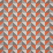 Peruvian Check Papaya 2425/04 Colorway