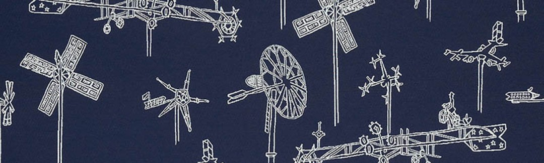 Whirligig Navy 431-004 Detailed View