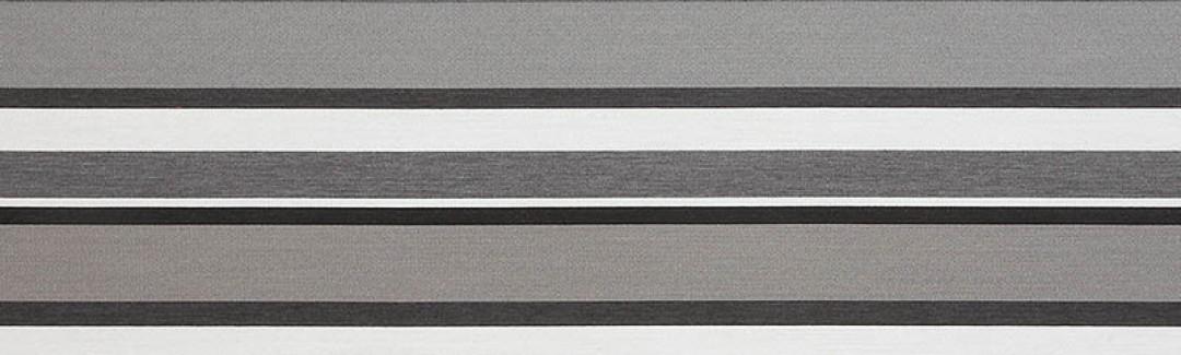 Sonata Stripe Charcoal 63050 Detailed View