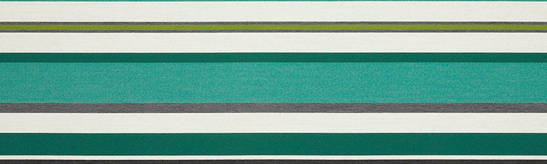 Sonata Stripe Emerald 63058 Detailed View