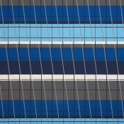 Lines On Stripes Deep Cobalt 490-55 Colorway