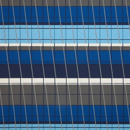 Lines On Stripes Deep Cobalt 490-55