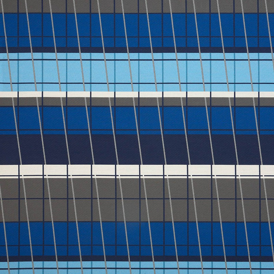 Lines On Stripes Deep Cobalt 490-55 Larger View