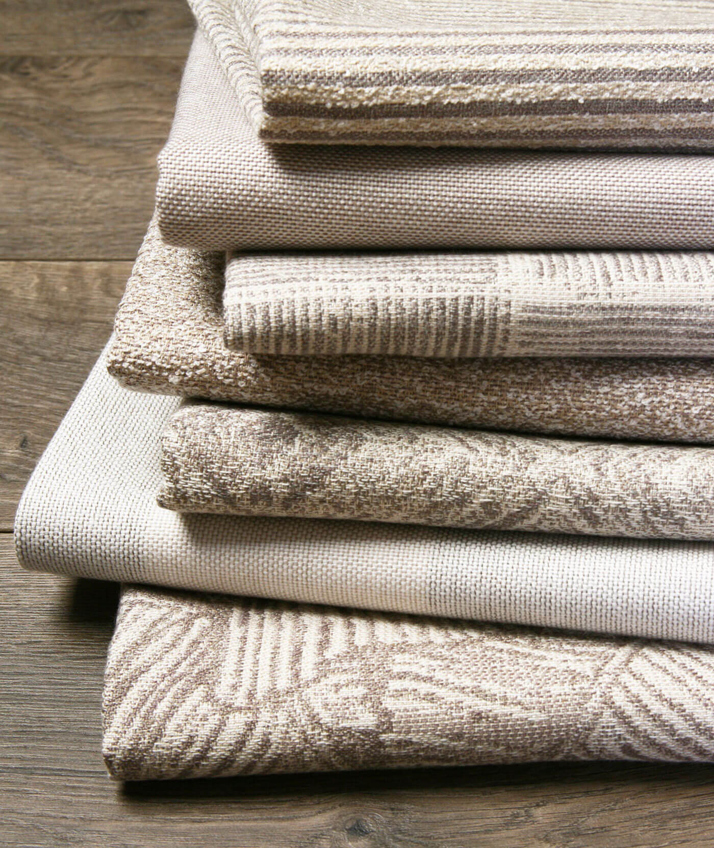 Neutral Fabrics Designed by Richard Frinier