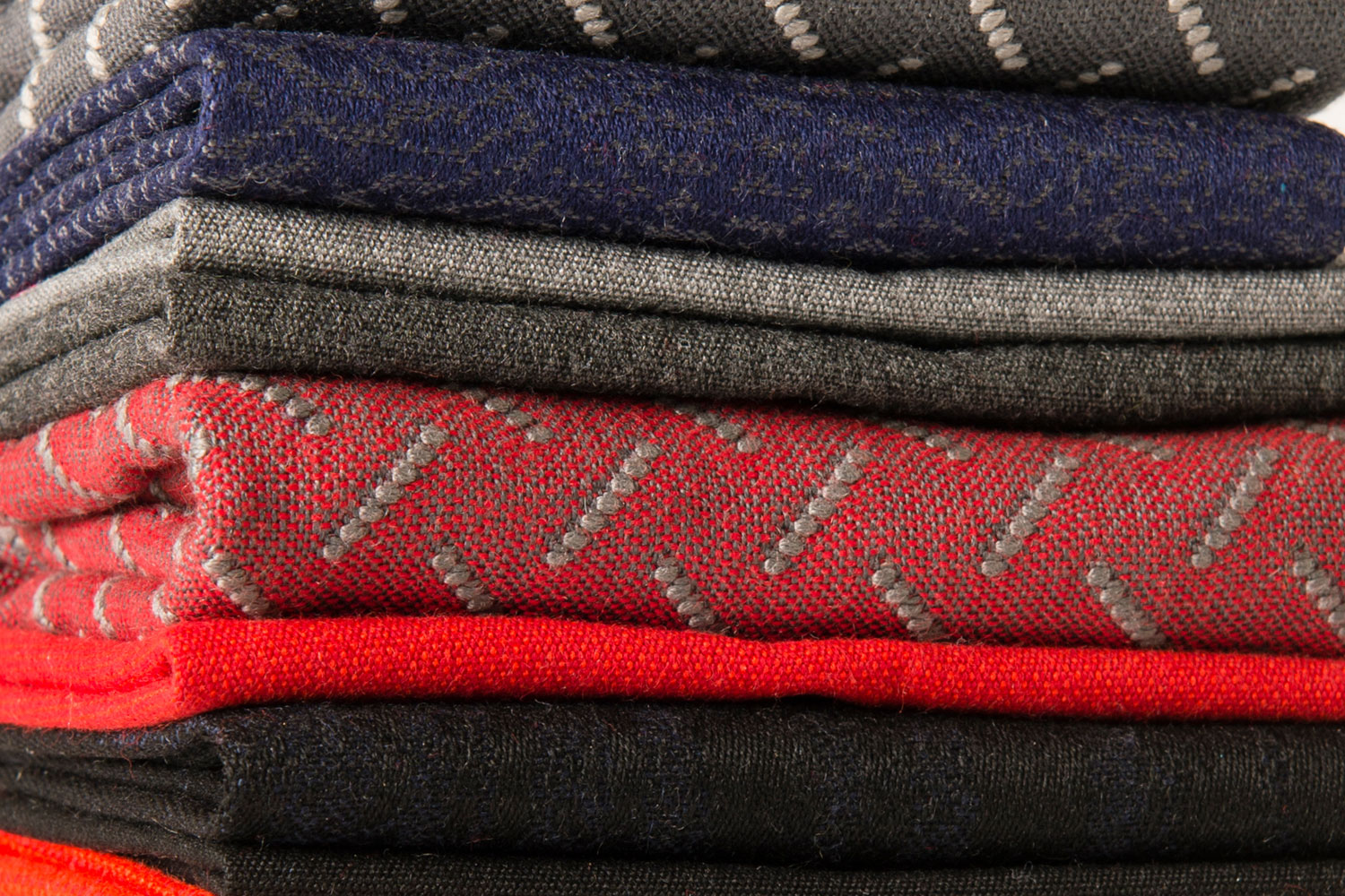 A selection of Sunbrella fabrics that illustrate the wander trend.