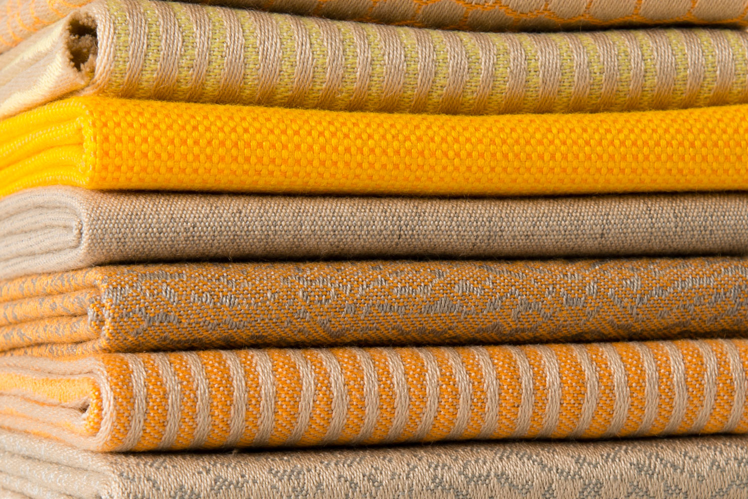A selection of Sunbrella fabrics that illustrate the perform trend.