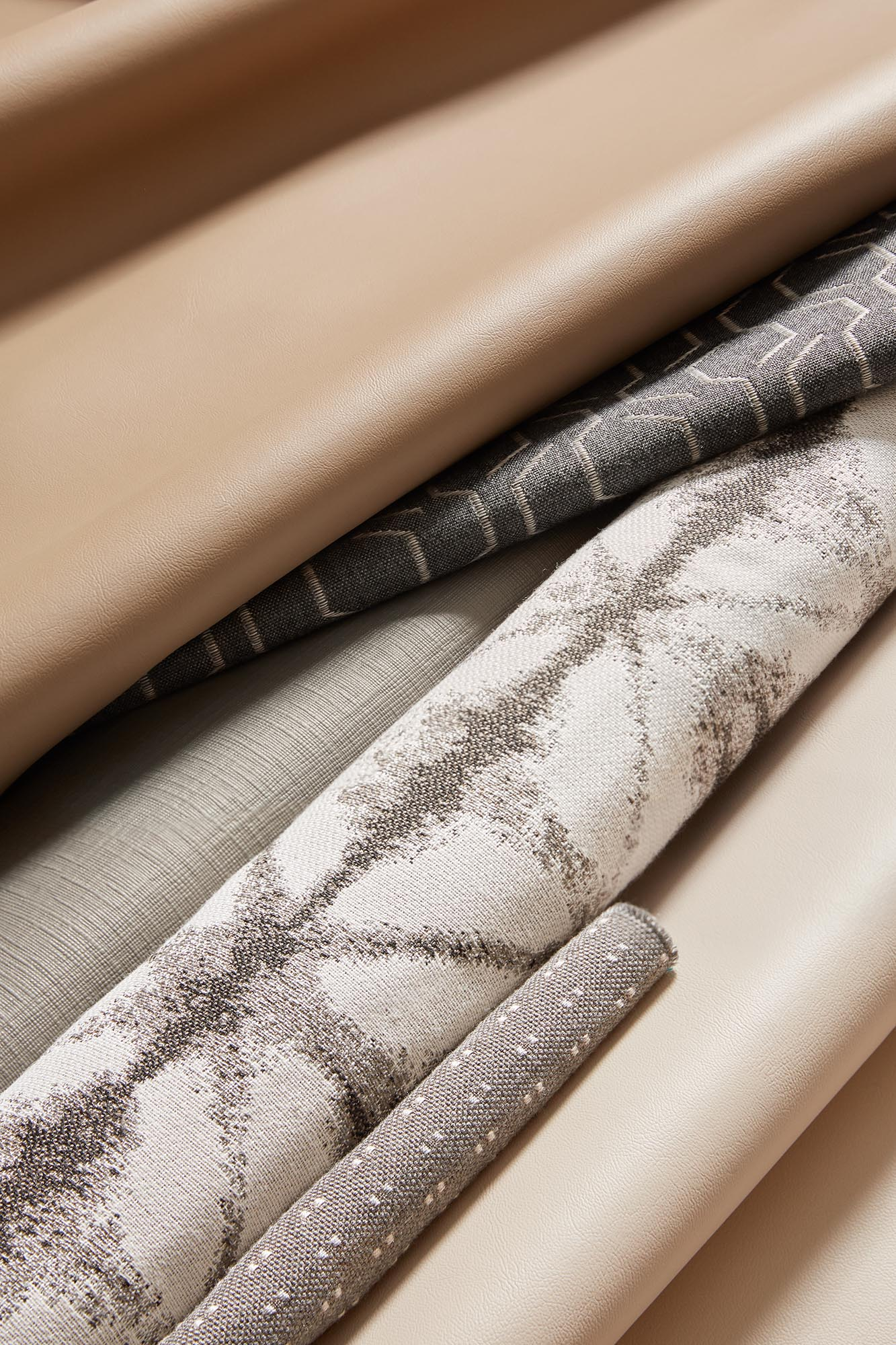Sunbrella Marine Upholstery Collection, Neutral Fabrics