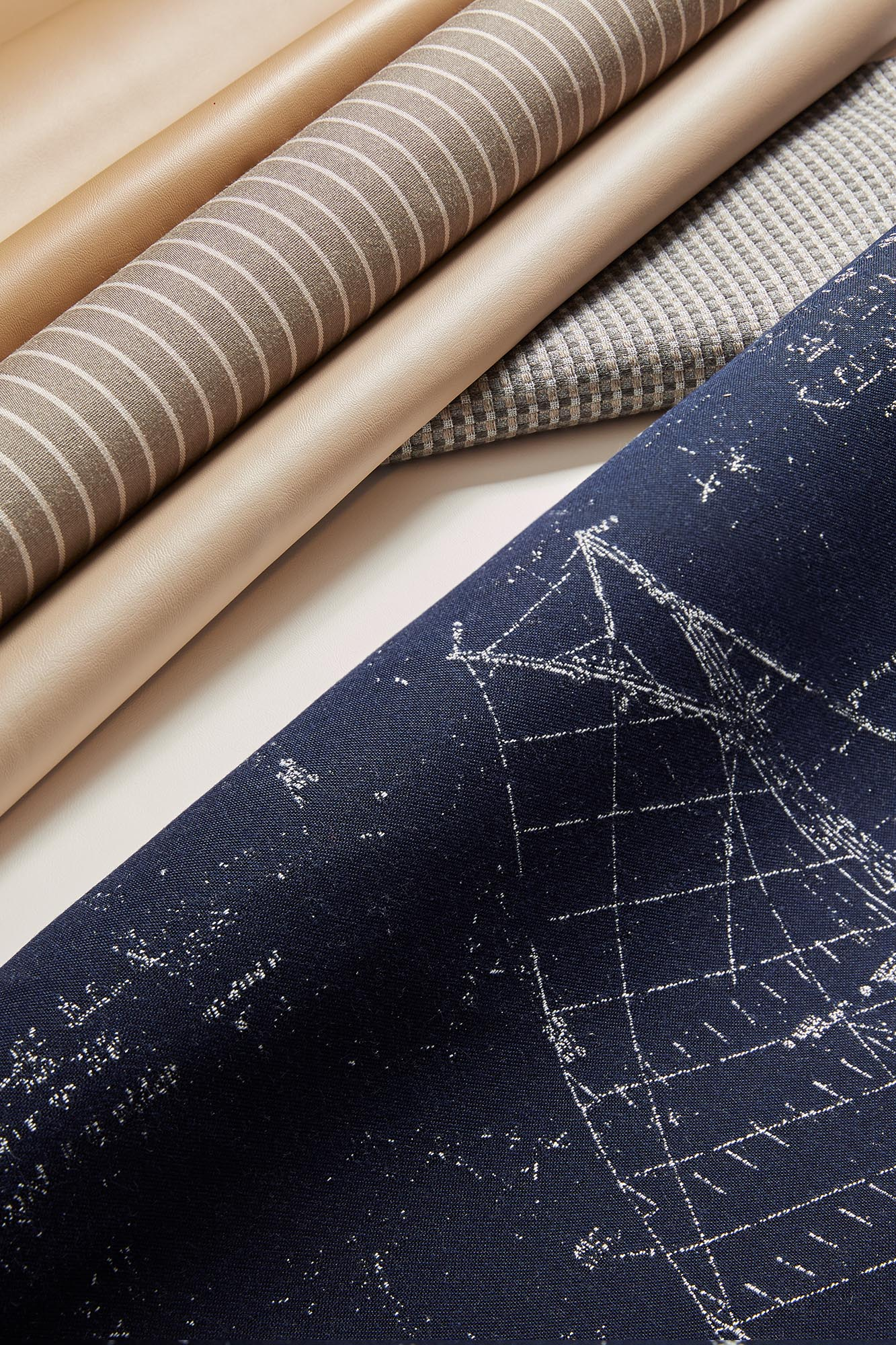 Sunbrella Marine Upholstery Collection, Pattern Point of Sail