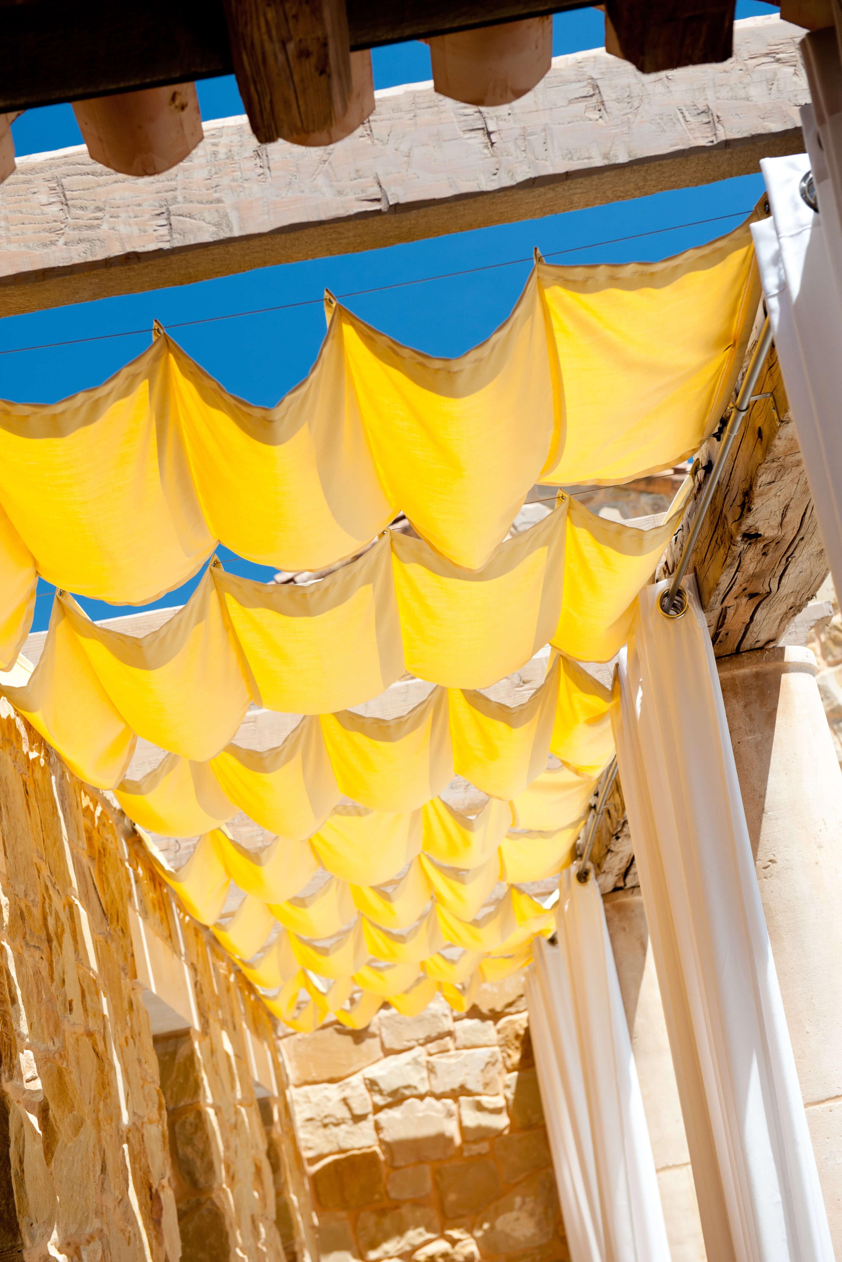 Outdoor curtains sunbrella