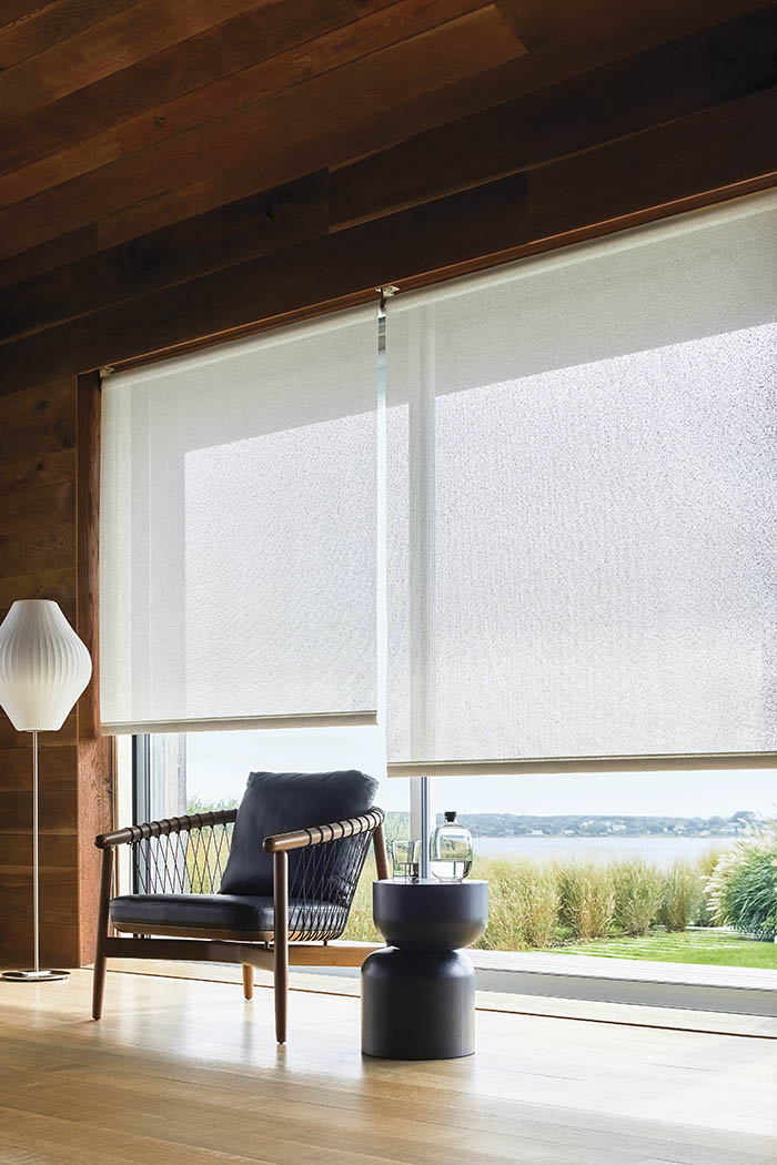 Reduce glare in your living space with Solar Shades from The Shade Store
